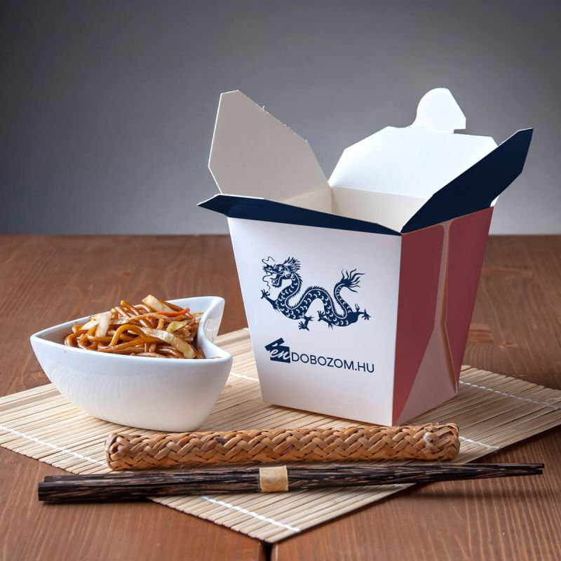 ételtároló doboz kínai ételek csomagolására