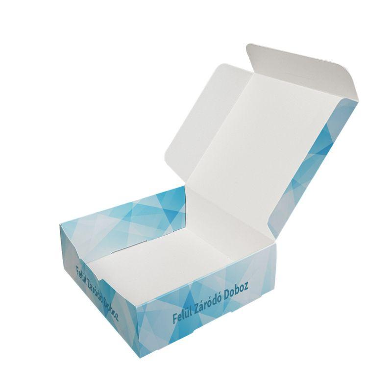 Felül záródó doboz