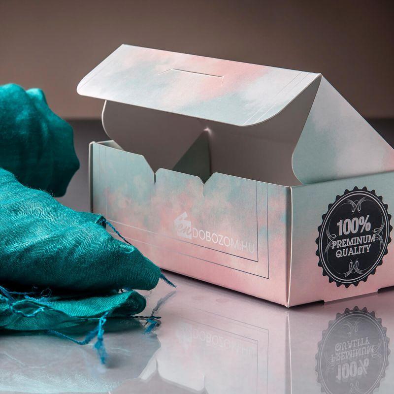 felülzáródó doboz sál csomagoláshoz