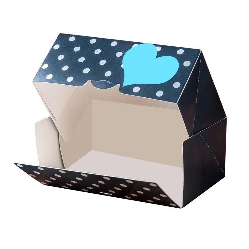 Süteményes ragasztott doboz
