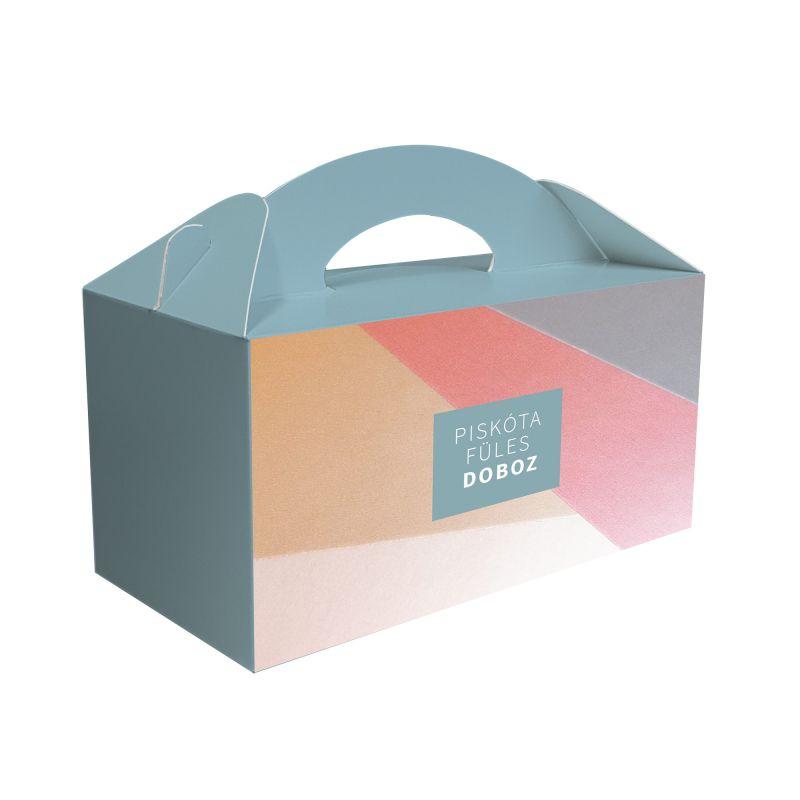 Piskótafüles doboz
