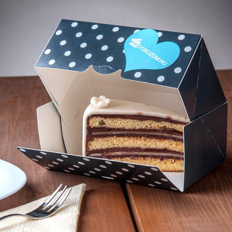 süteményes doboz torta csomagoláshoz