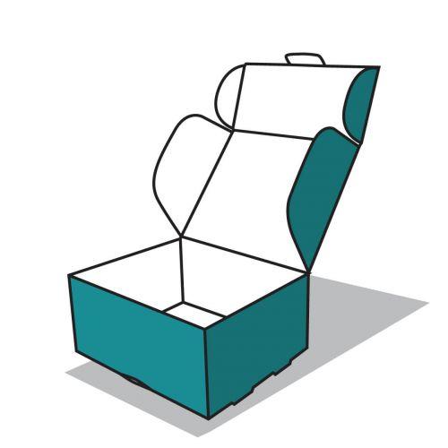 elől záródó doboz ikon
