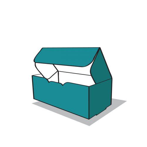 felülzáródó doboz ikon