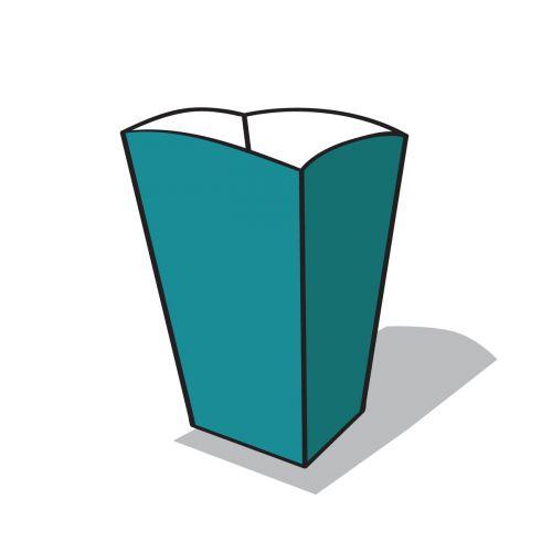 popcorn doboz ikon