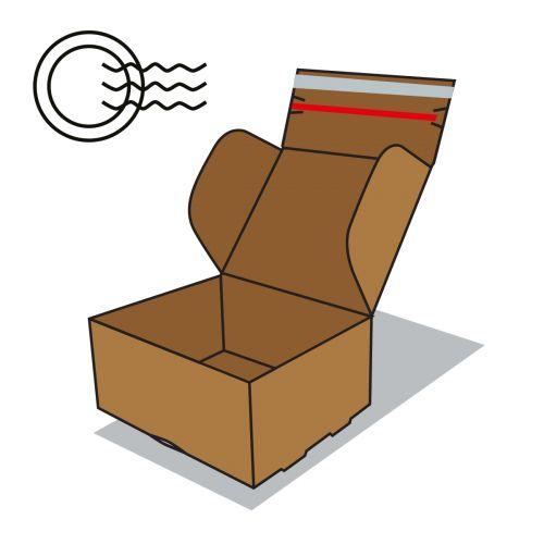 Postai szállító doboz ikon