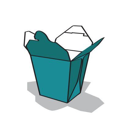 ételtároló doboz ikon