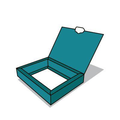 Lengőfüles doboz