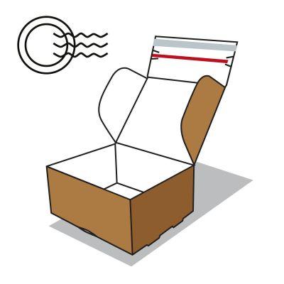 Postai szállító doboz