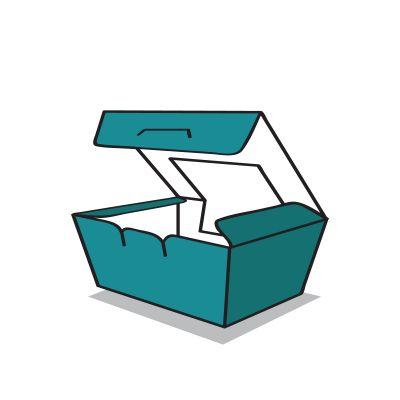 salátás doboz ikon