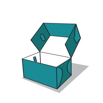 süteményes doboz ikon
