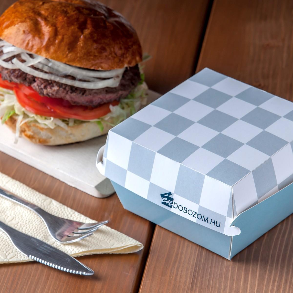 hamburger doboz