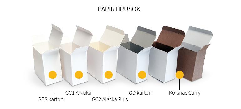 papírtípusok